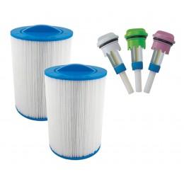 Pack de filtros e aroma spa exterior