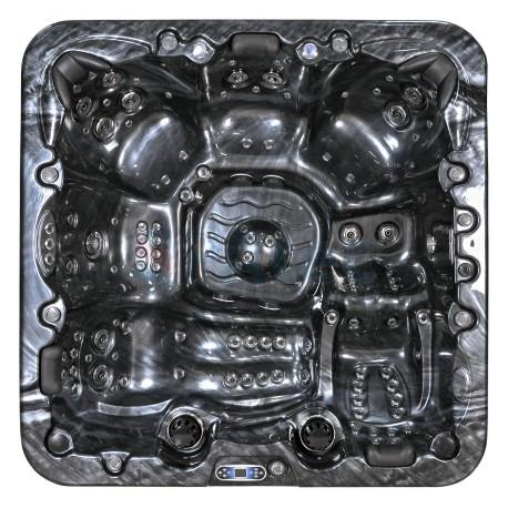 spa jacuzzi exterior SPAtec 950B preto
