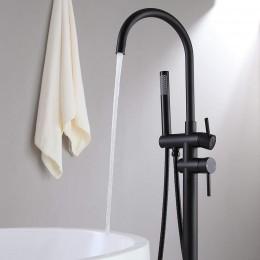 Torneira da banheira Exenta negra